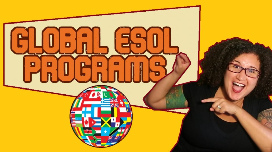 global easol programs-a curly haired woman with glasses pointing to the caption